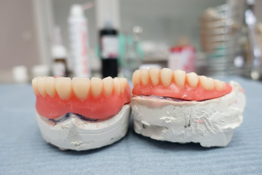Image of New Dentures